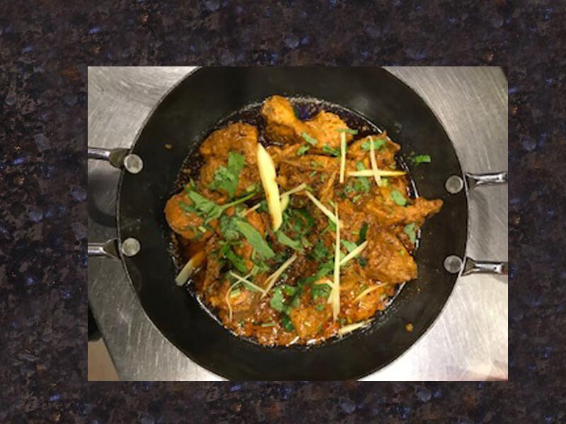 Chicken Tawa Karahi