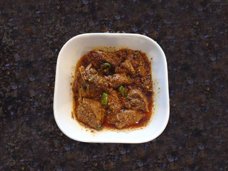 Lamb Tawa Karahi